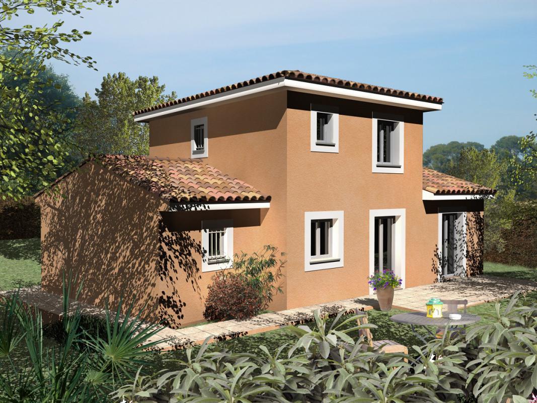 Maisons + Terrains du constructeur MAISONS CLAUDE RIZZON MEDITERRANEE • NIMES