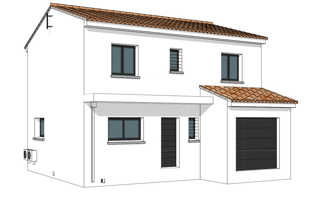 Maisons + Terrains du constructeur GROUPE SM PROMOTION • 110 m² • CANET