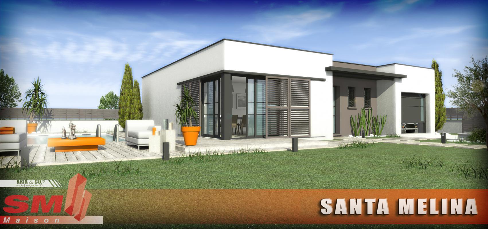 Maisons + Terrains du constructeur GROUPE SM PROMOTION • 90 m² • CANET