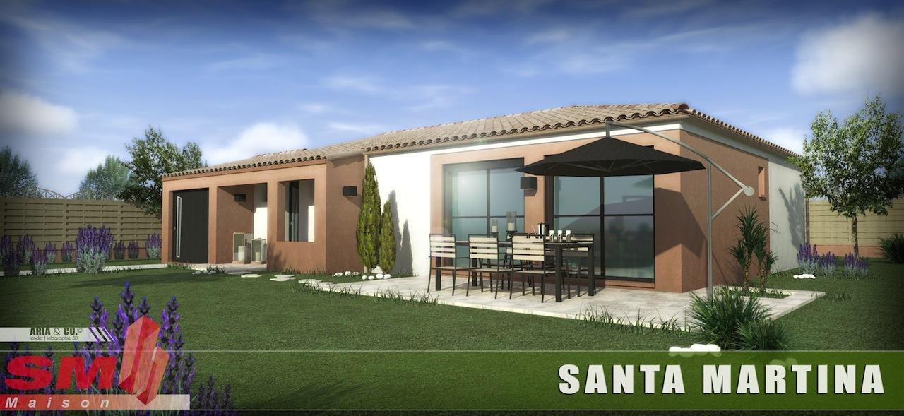 Maisons + Terrains du constructeur GROUPE SM PROMOTION • 75 m² • CANET