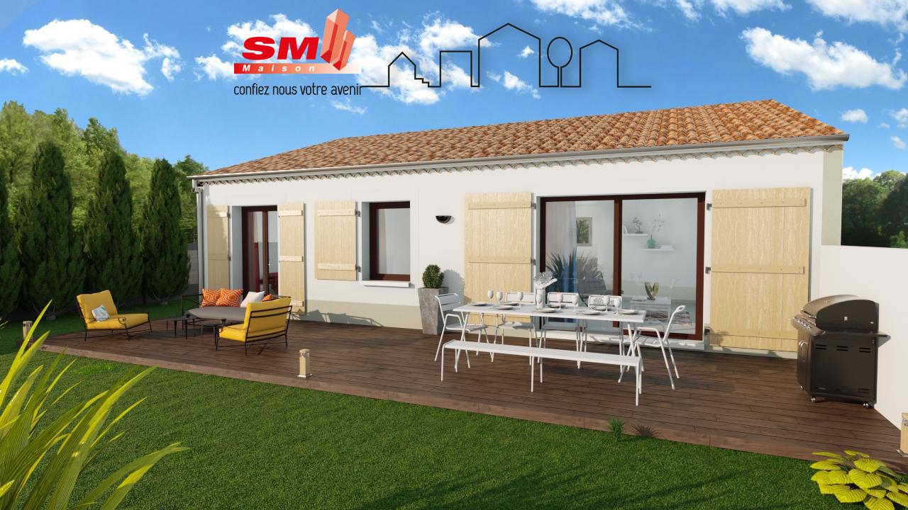 Maisons + Terrains du constructeur GROUPE SM PROMOTION • 75 m² • ORNAISONS