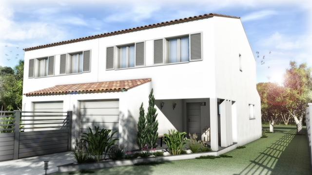 Maisons + Terrains du constructeur GROUPE SM PROMOTION • 96 m² • CUXAC D'AUDE