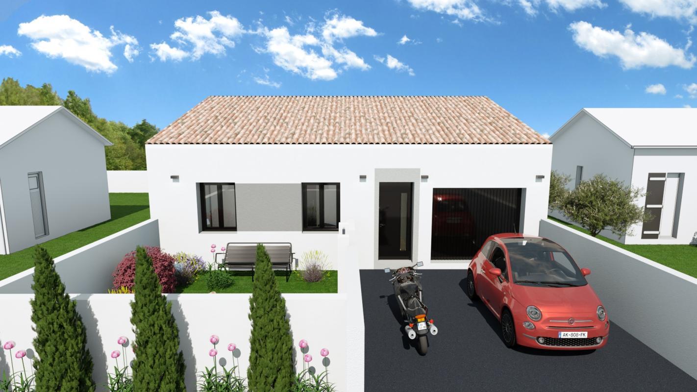 Maisons + Terrains du constructeur GROUPE SM PROMOTION • 70 m² • SIGEAN