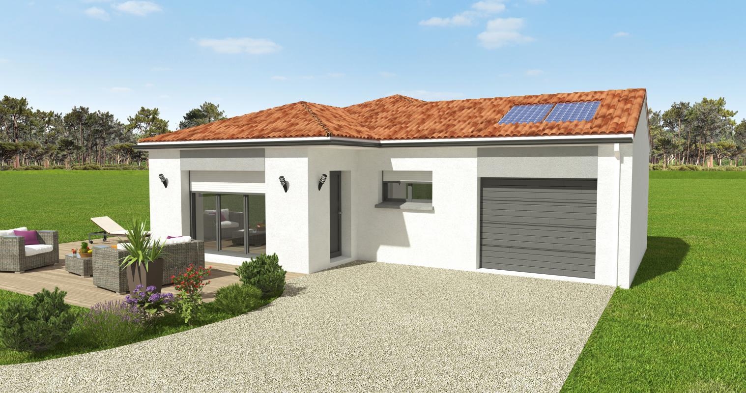 Maisons du constructeur OCEANE HABITAT • 122 m² • PORNIC