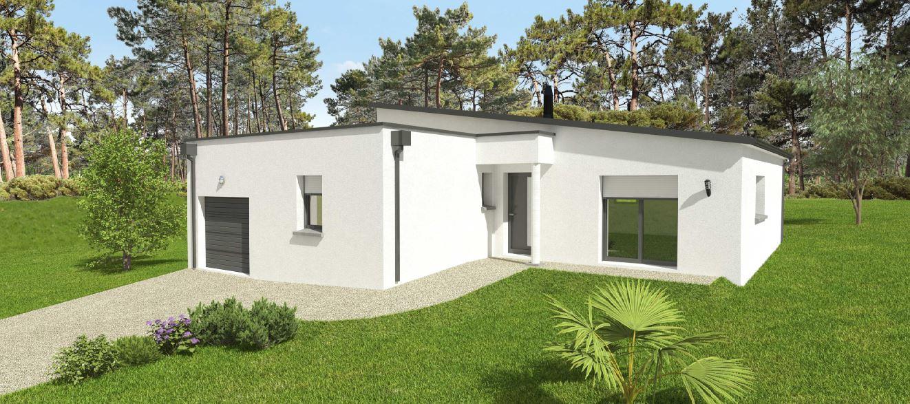 Maisons du constructeur OCEANE HABITAT • 104 m² • PENESTIN