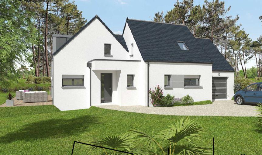 Maisons du constructeur OCEANE HABITAT • 121 m² • BESNE