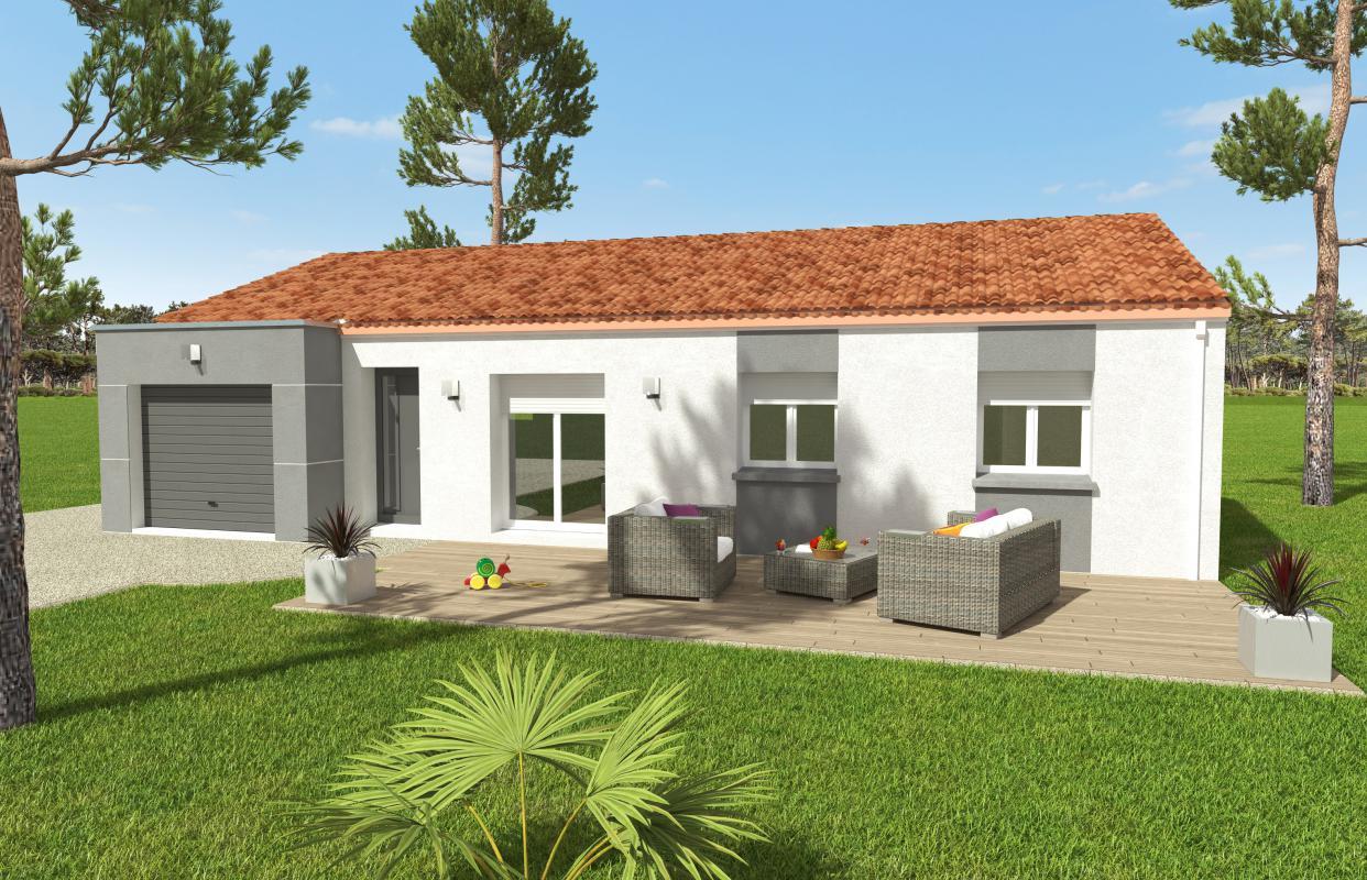 Maisons du constructeur OCEANE HABITAT • 74 m² • PORNIC