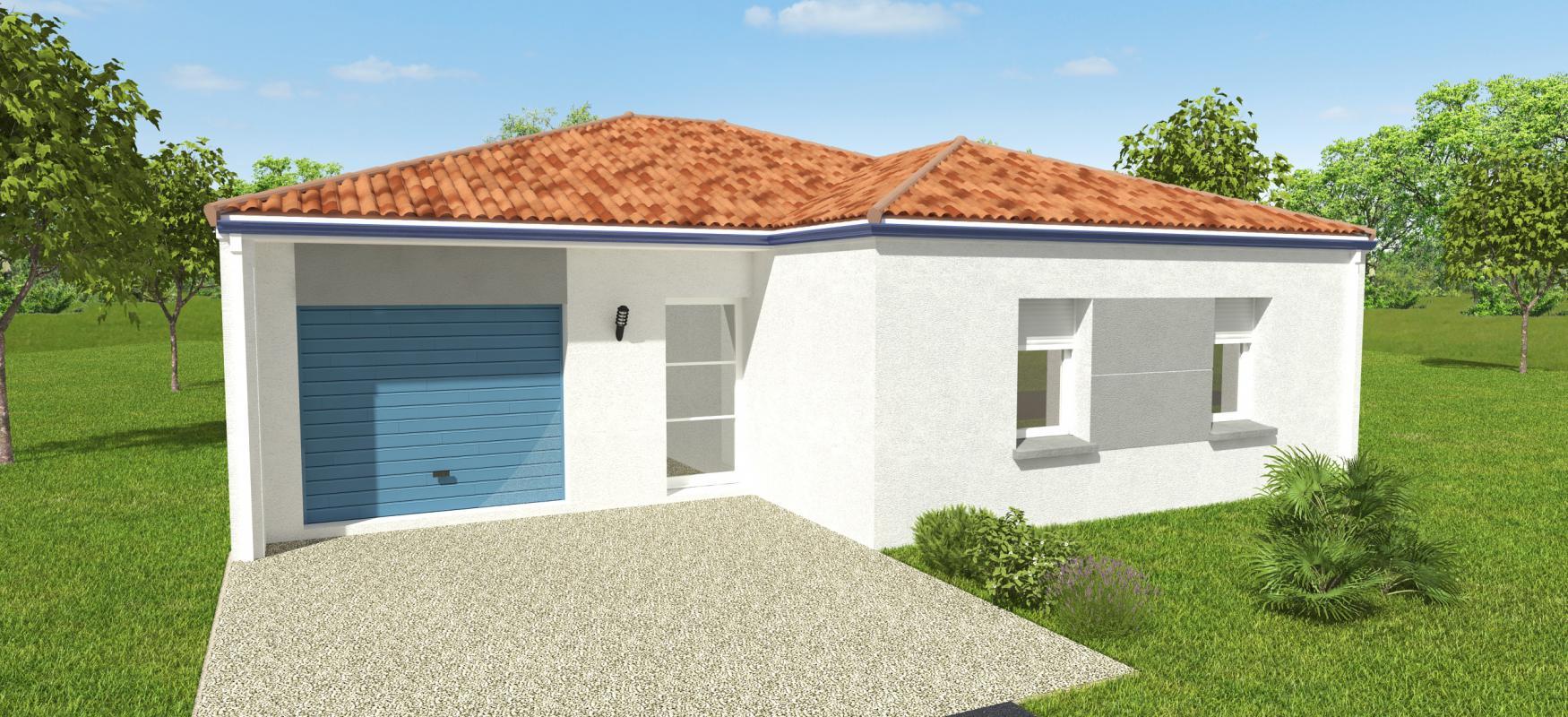 Maisons du constructeur OCEANE HABITAT • 92 m² • THARON PLAGE
