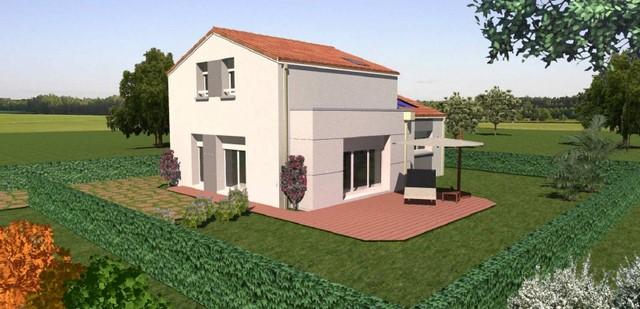 Maisons du constructeur OCEANE HABITAT • 110 m² • LA PLAINE SUR MER