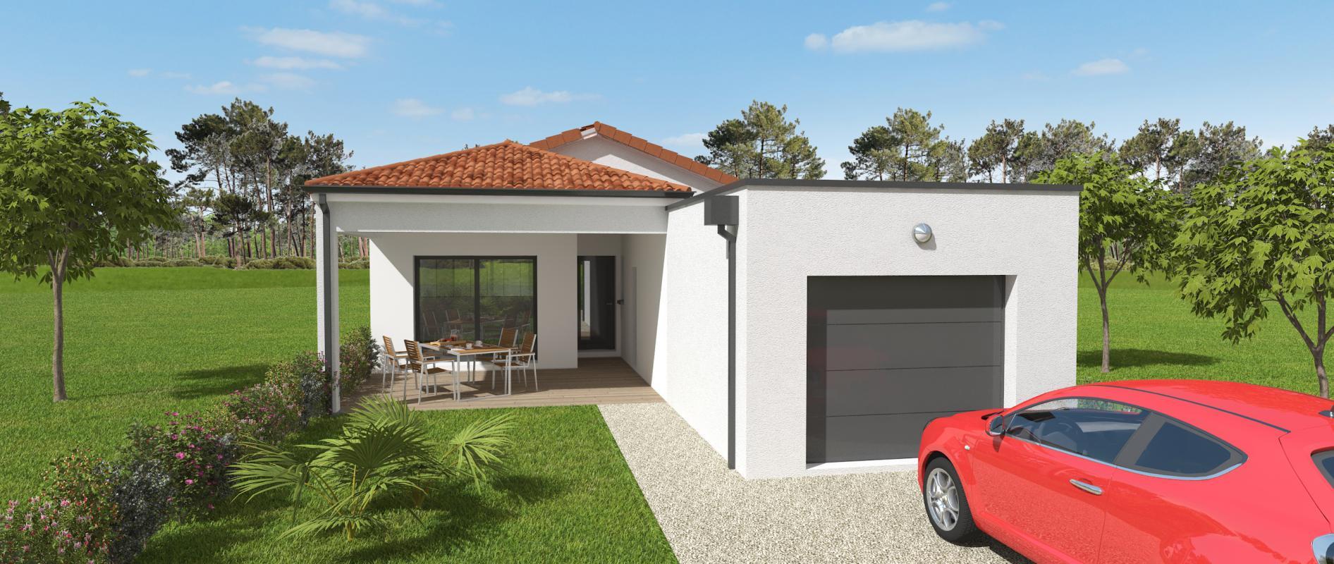 Maisons du constructeur OCEANE HABITAT • 114 m² • SAINT MICHEL CHEF CHEF