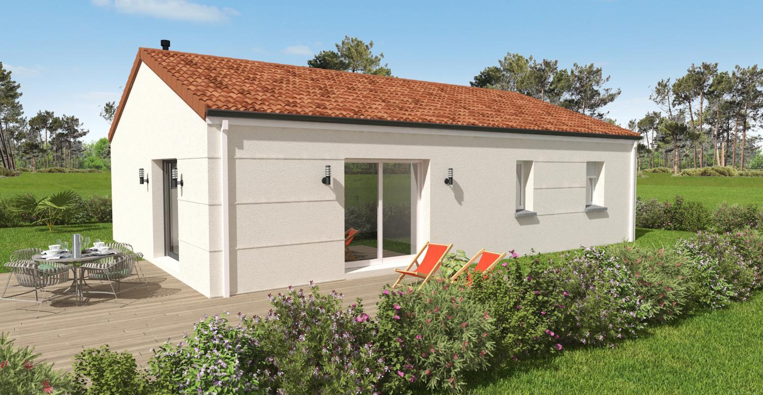 Maisons du constructeur OCEANE HABITAT • 74 m² • SAINT MICHEL CHEF CHEF
