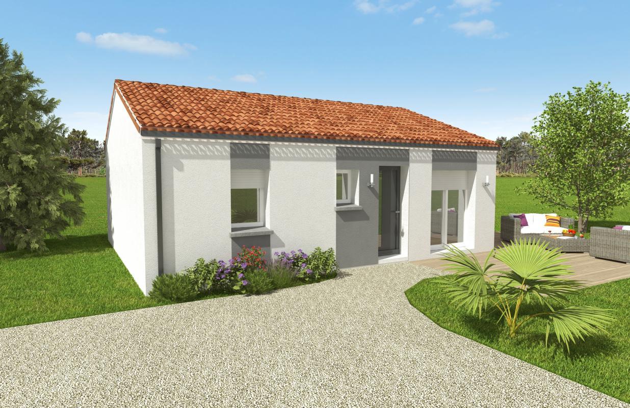 Maisons du constructeur OCEANE HABITAT • 56 m² • SAINT MICHEL CHEF CHEF