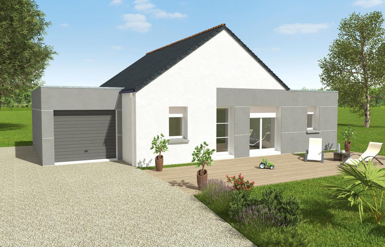 Maisons du constructeur OCEANE HABITAT • 80 m² • SAINT NAZAIRE