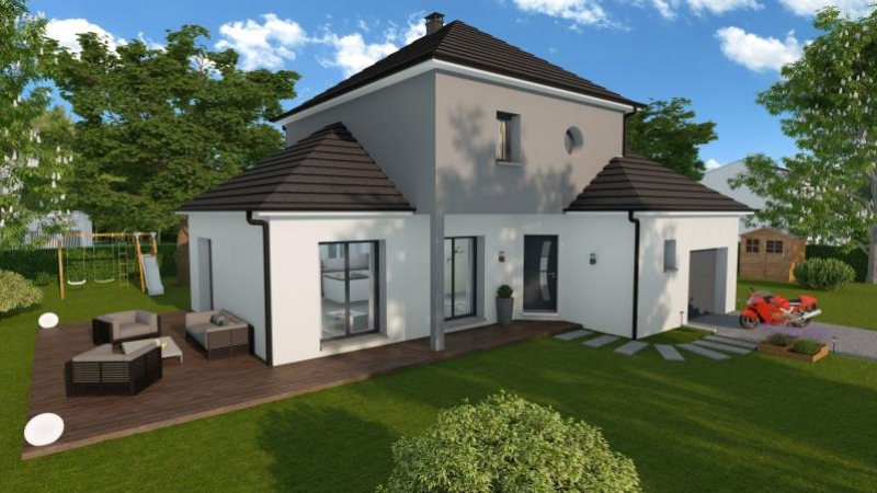 Maisons du constructeur MAISONS FRANCE STYLE • BACQUEVILLE EN CAUX