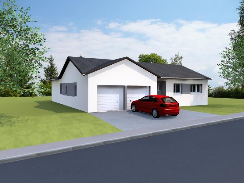 Maisons du constructeur MAISONS NOBLESS • 100 m² • MONT SUR MEURTHE
