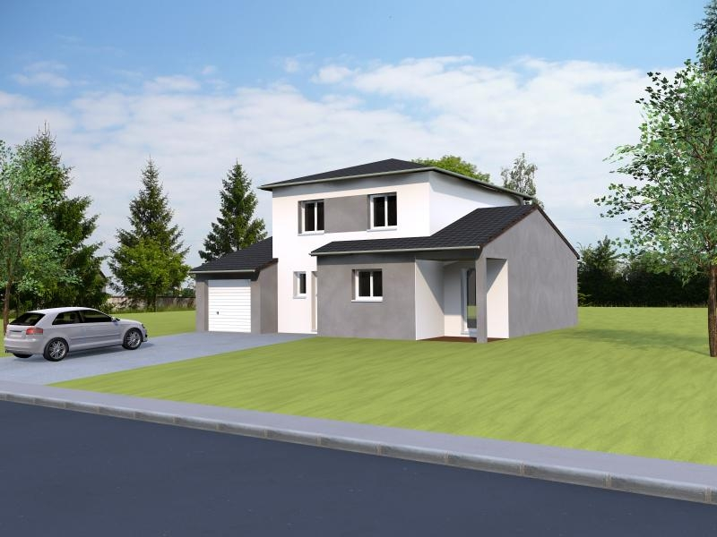 Maisons du constructeur MAISONS NOBLESS • 122 m² • ECROUVES