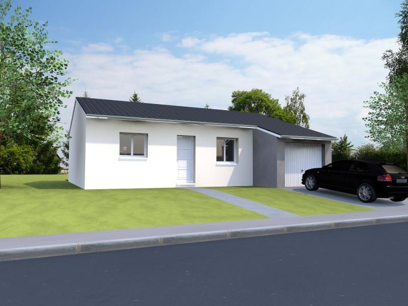 Maisons du constructeur MAISONS NOBLESS • 71 m² • MONT SUR MEURTHE