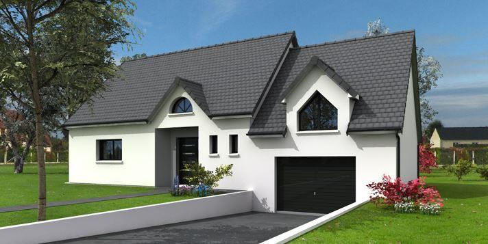 Maisons + Terrains du constructeur MAISONS FRANCE CONFORT • 120 m² • ROUEN