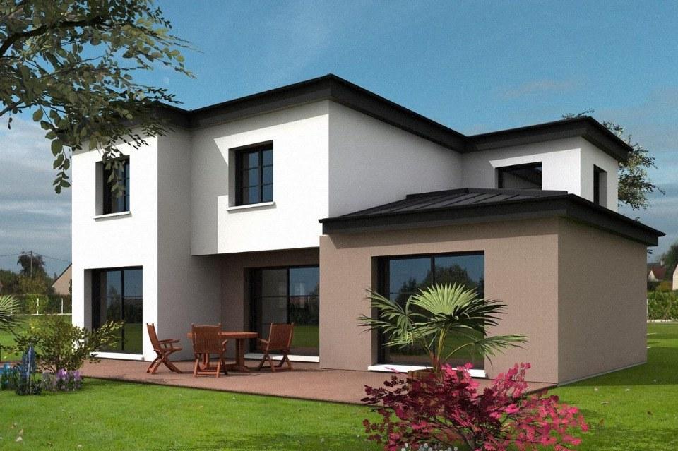 Maisons + Terrains du constructeur MAISONS FRANCE CONFORT • 165 m² • BUCHY