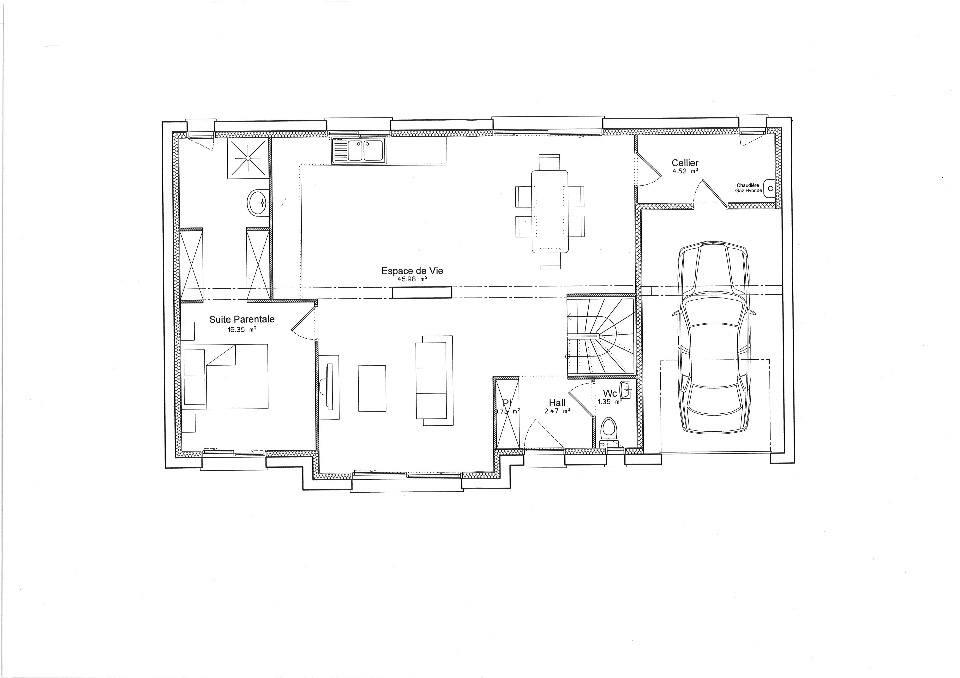 Maisons + Terrains du constructeur MAISONS FRANCE CONFORT • 120 m² • ISNEAUVILLE