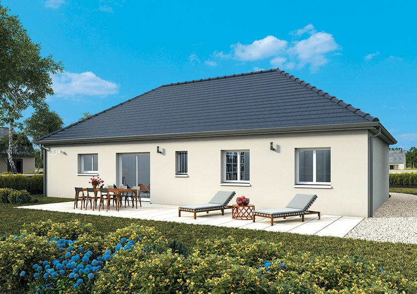 Maisons + Terrains du constructeur MAISONS FRANCE CONFORT • 100 m² • BOUVILLE