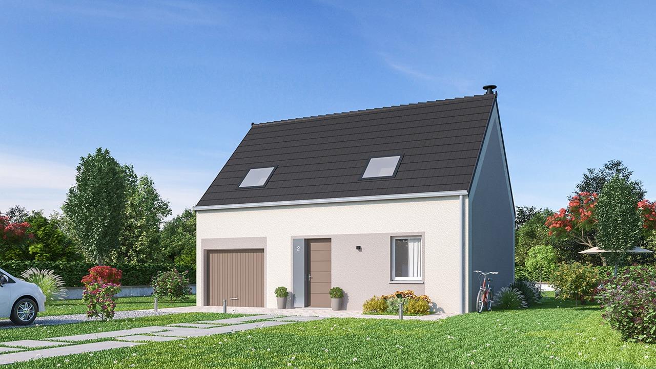 Maisons + Terrains du constructeur Maisons Phénix Valenciennes • 84 m² • HERGNIES