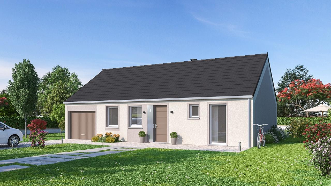 Maisons + Terrains du constructeur Maisons Phénix Valenciennes • 88 m² • HERGNIES