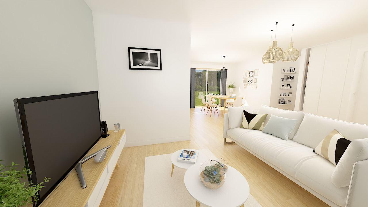 Maisons + Terrains du constructeur Maisons Phénix Valenciennes • 96 m² • PROUVY