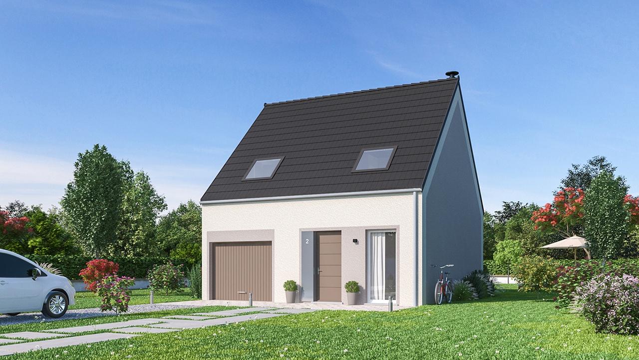Maisons + Terrains du constructeur Maisons Phénix Valenciennes • 83 m² • MONCHAUX SUR ECAILLON