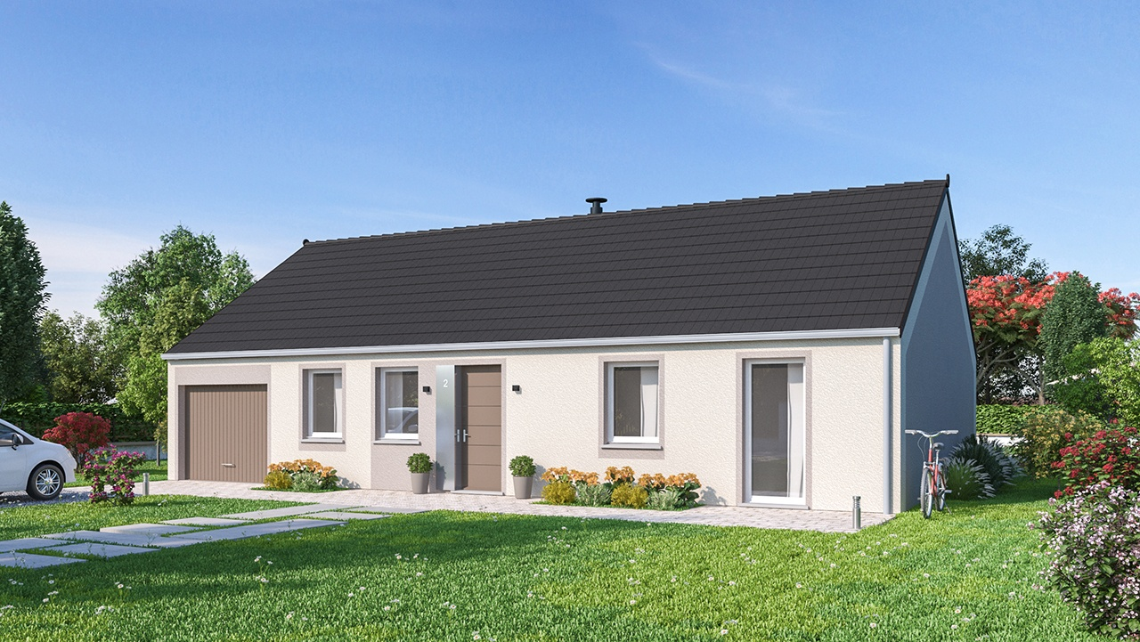 Maisons + Terrains du constructeur Maisons Phénix Amiens • 102 m² • MAUCOURT
