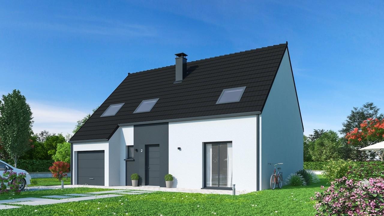 Maisons + Terrains du constructeur Maisons Phénix Amiens • 132 m² • NESLE