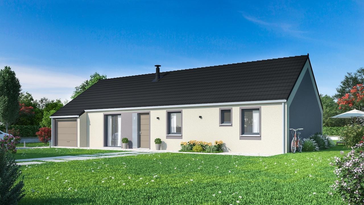 Maisons + Terrains du constructeur Maisons Phénix Amiens • 122 m² • MONTDIDIER