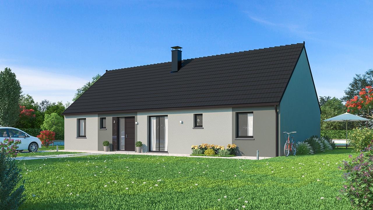 Maisons + Terrains du constructeur Maisons Phénix Amiens • 128 m² • MESNIL SAINT NICAISE