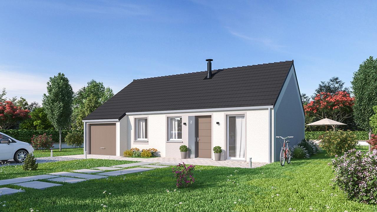 Maisons + Terrains du constructeur Maisons Phénix Amiens • 78 m² • LUCHEUX