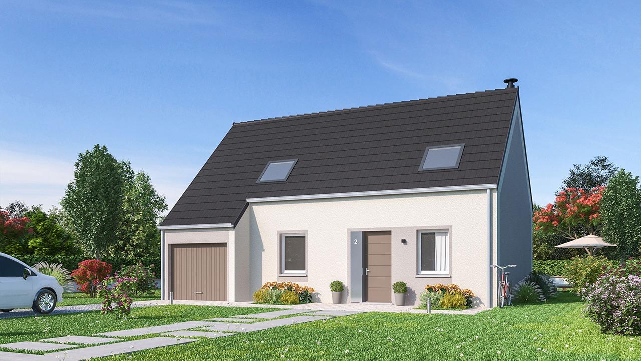 Maisons + Terrains du constructeur Maisons Phénix Amiens • 105 m² • BERTEAUCOURT LES THENNES