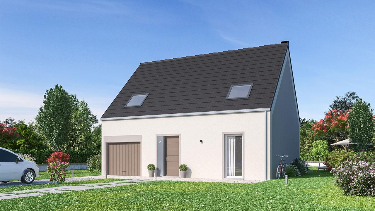 Maisons + Terrains du constructeur Maisons Phénix Amiens • 115 m² • RIVERY