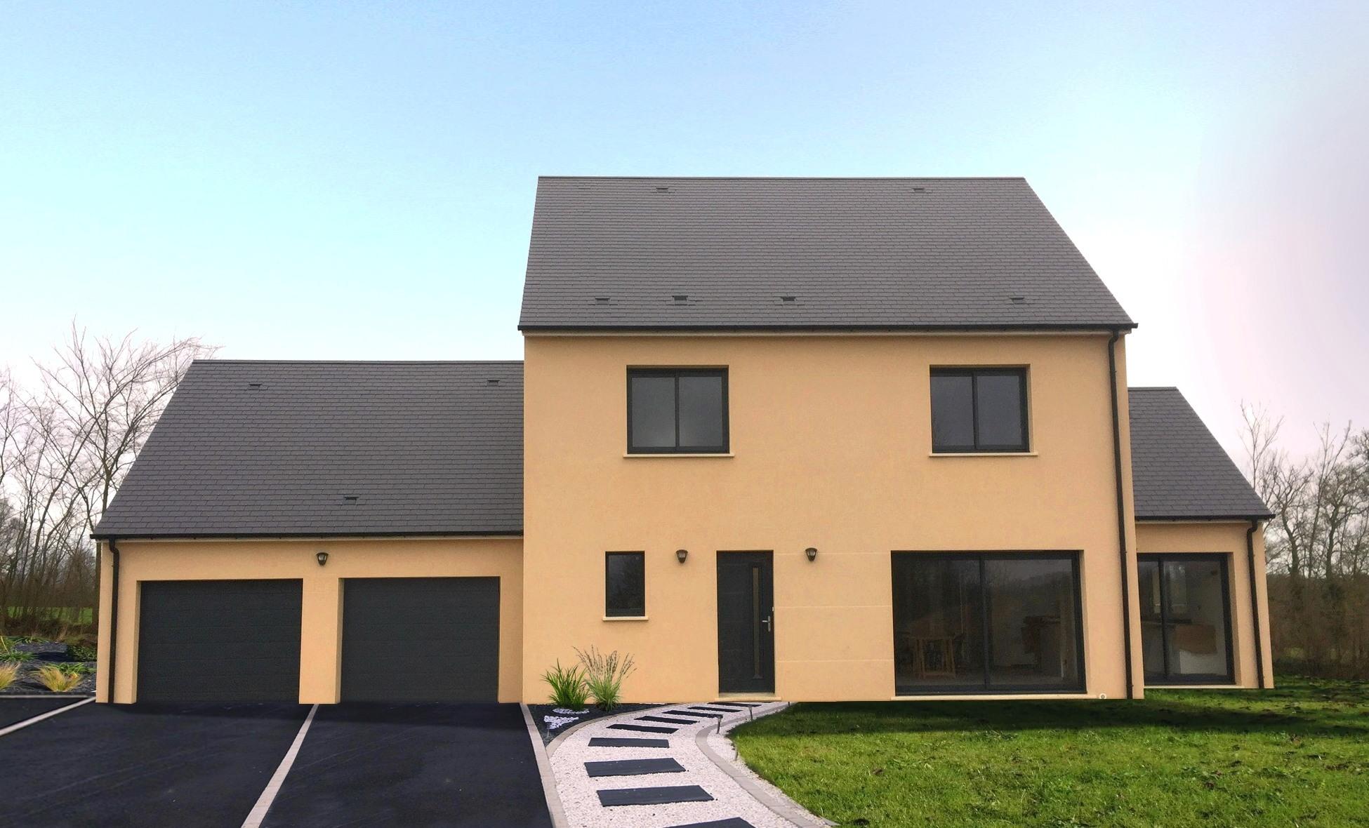 Maisons + Terrains du constructeur GEOXIA NORD OUEST • 154 m² • SAINT AUBIN EPINAY
