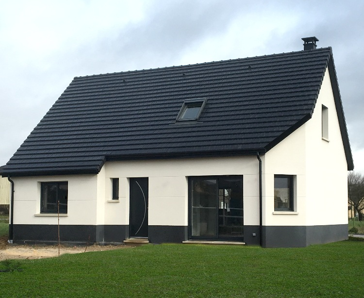 Maisons + Terrains du constructeur GEOXIA NORD OUEST • 110 m² • RONCHEROLLES SUR LE VIVIER