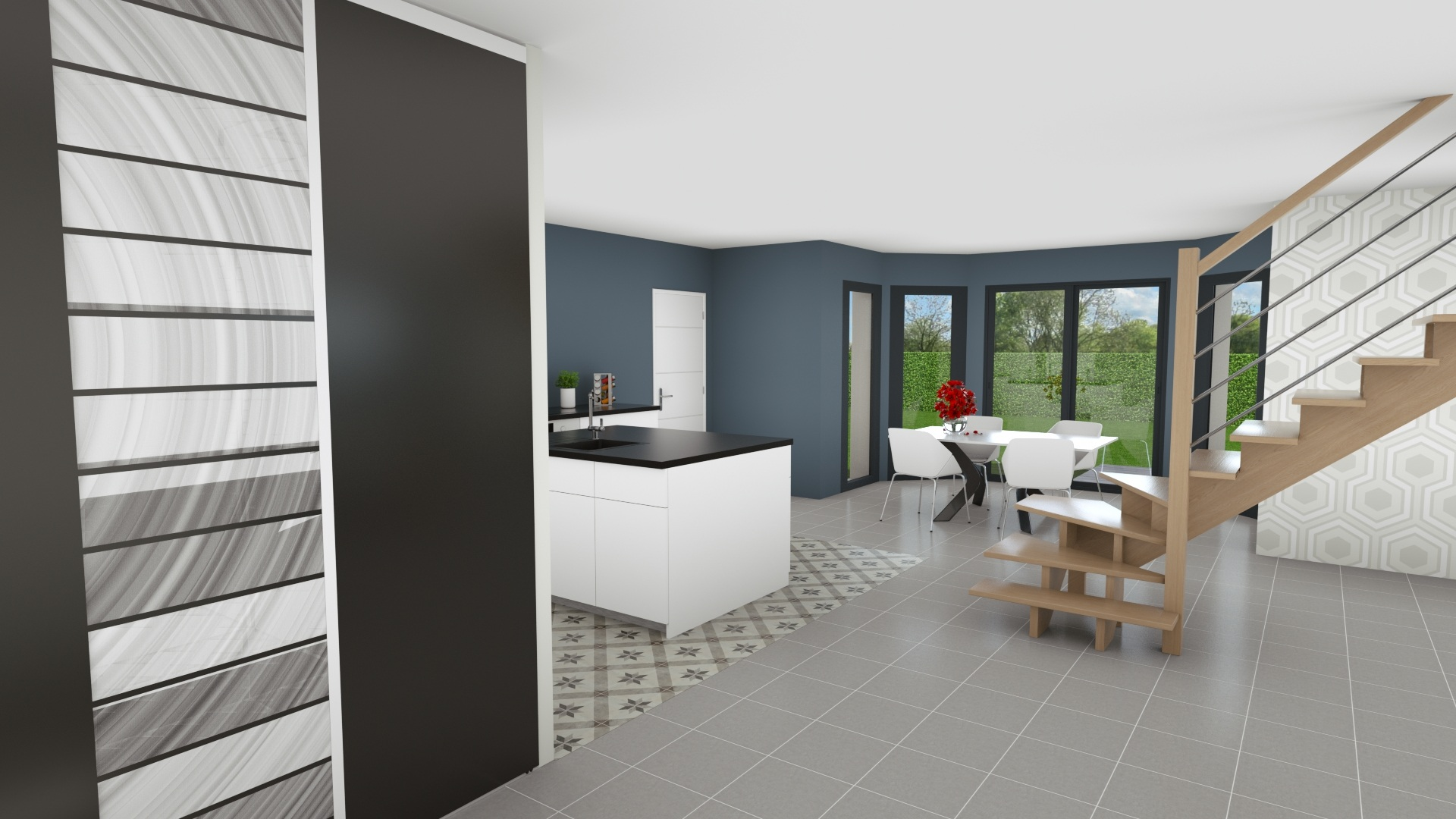 Maisons + Terrains du constructeur GEOXIA NORD OUEST • 130 m² • SAINT GEORGES SUR FONTAINE