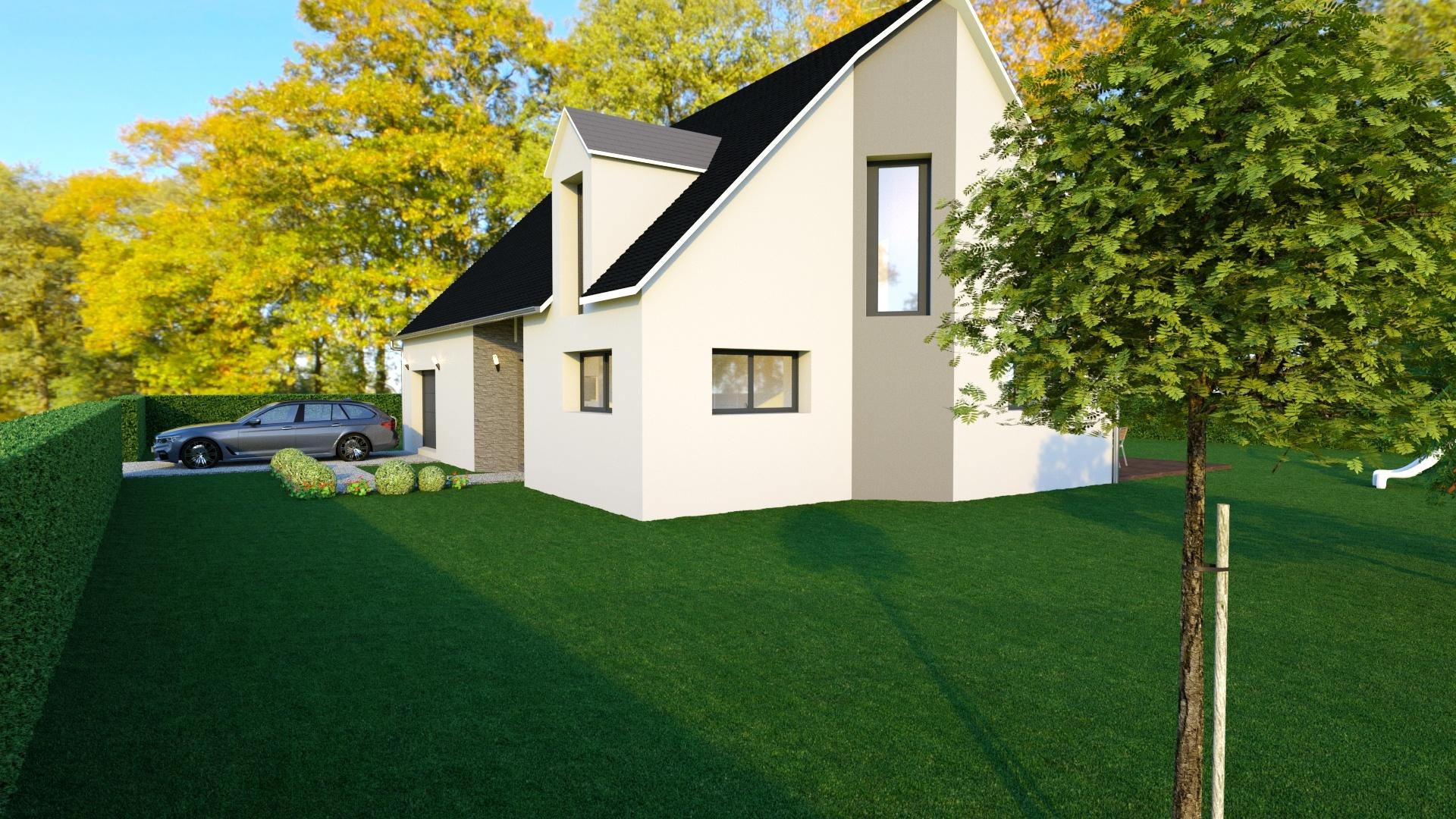 Maisons + Terrains du constructeur GEOXIA NORD OUEST • 125 m² • SAINT JEAN DU CARDONNAY