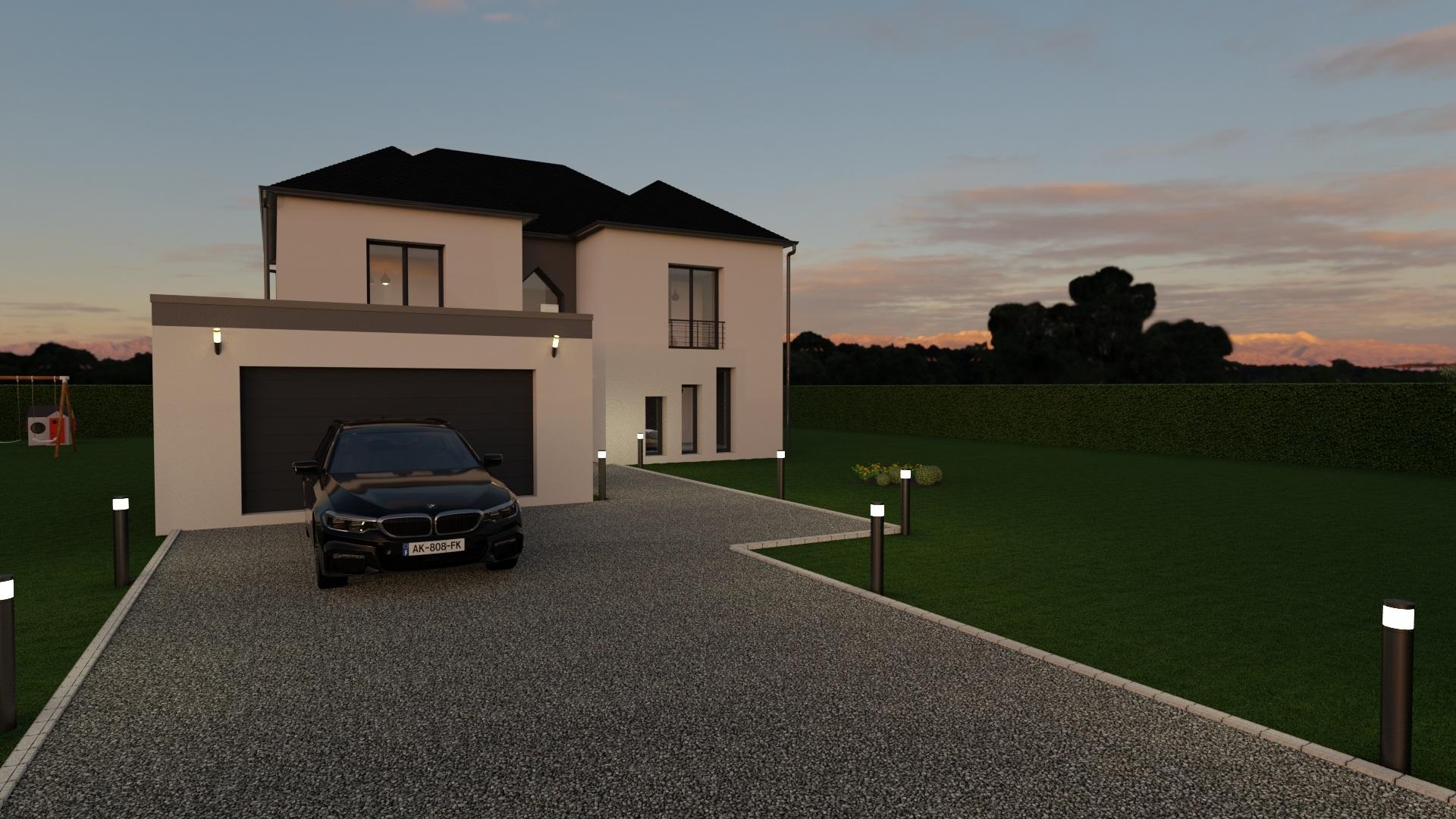 Maisons + Terrains du constructeur GEOXIA NORD OUEST • 140 m² • MONT CAUVAIRE