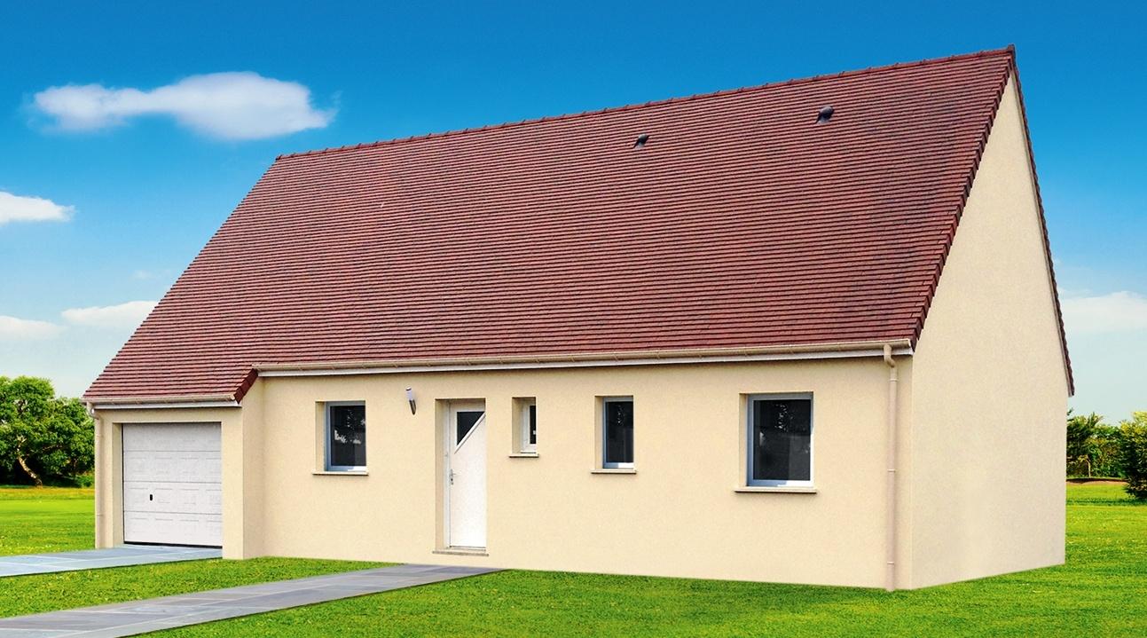 Maisons + Terrains du constructeur GEOXIA NORD OUEST • 87 m² • SAINT JEAN DU CARDONNAY
