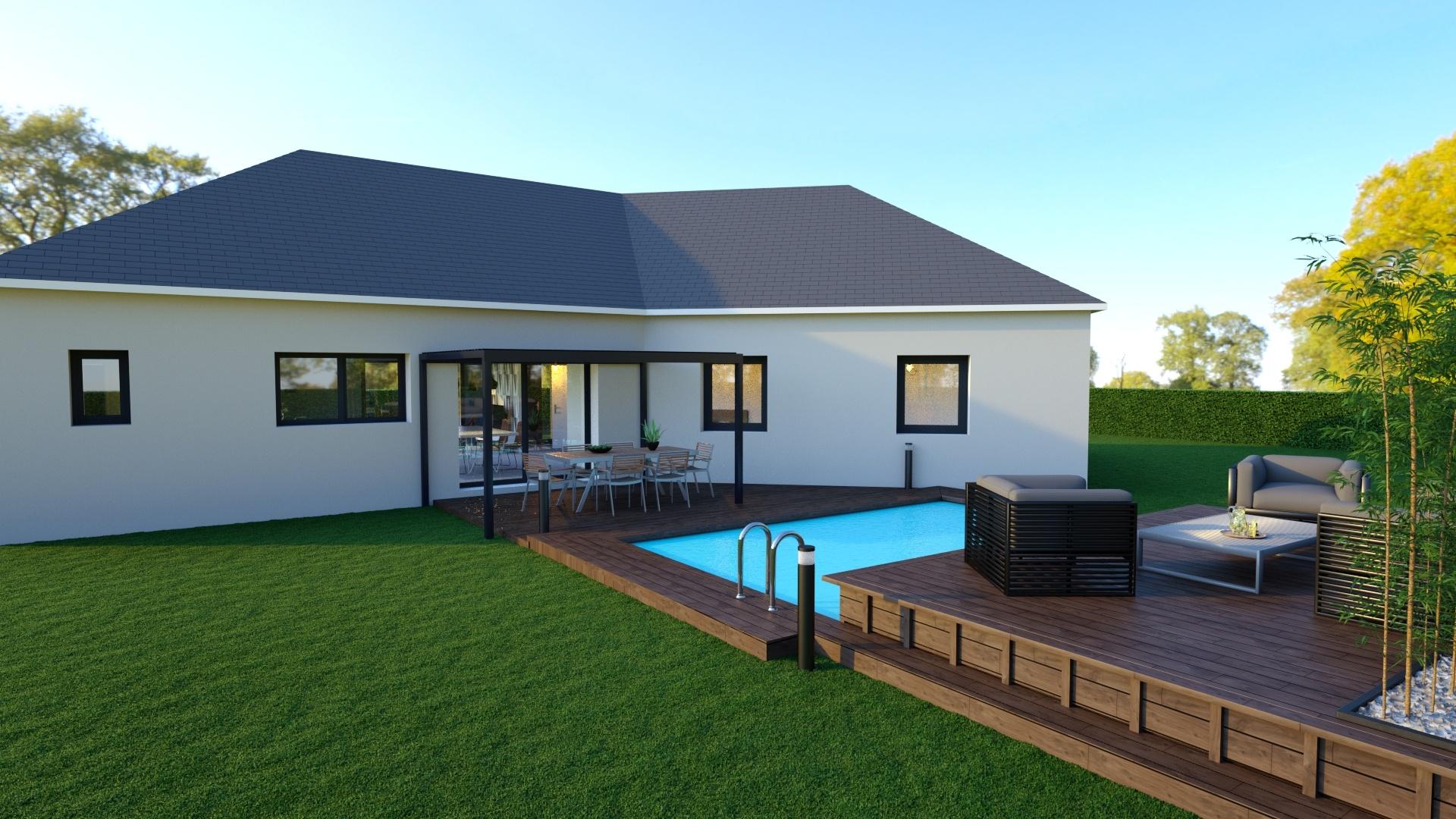 Maisons + Terrains du constructeur GEOXIA NORD OUEST • 125 m² • BOOS