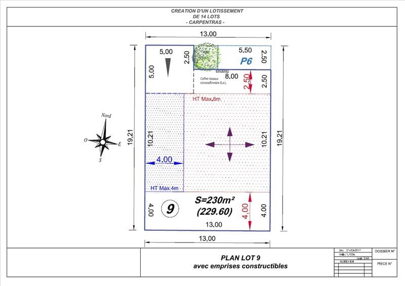 Terrains du constructeur LIONEL PENANT IMMOBILIER • 230 m² • CARPENTRAS
