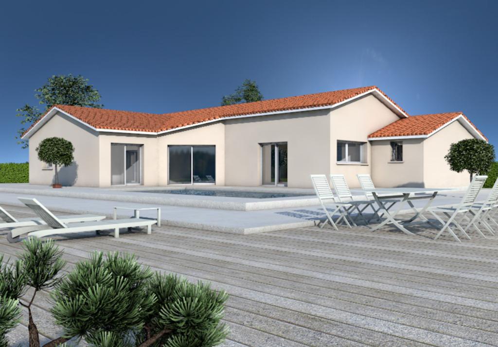 Maisons + Terrains du constructeur MAISONS ARLOGIS MACON • 120 m² • SAINT CYR SUR MENTHON