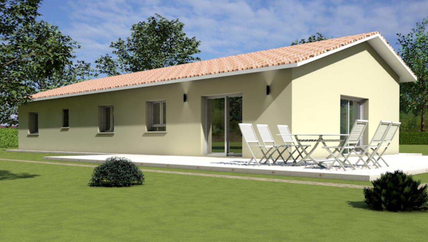 Maisons + Terrains du constructeur MAISONS ARLOGIS MACON • 105 m² • MACON
