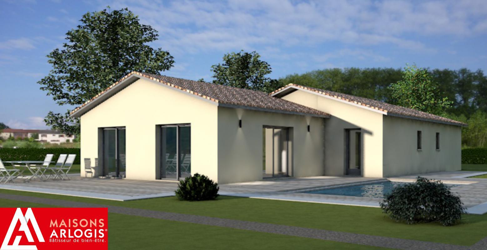 Maisons + Terrains du constructeur MAISONS ARLOGIS MACON • 110 m² • MACON