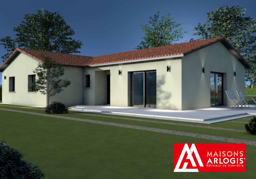 Maisons + Terrains du constructeur MAISONS ARLOGIS MACON • 105 m² • SAINT CYR SUR MENTHON