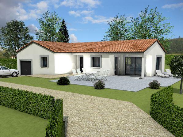 Maisons + Terrains du constructeur MAISONS ARLOGIS MACON • 95 m² • CHARNAY LES MACON