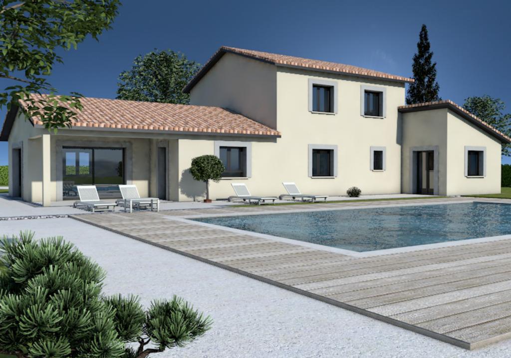 Maisons + Terrains du constructeur MAISONS ARLOGIS MACON • 130 m² • DAVAYE